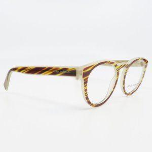 DG 3251 3052 Dolce & Gabbana Brown Striped Glasses